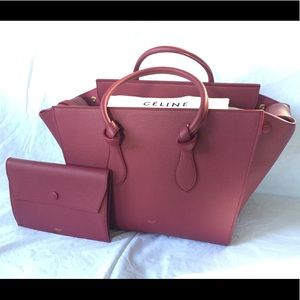 CELINE Tie Knot Tote Small Crisped Orchid $3500